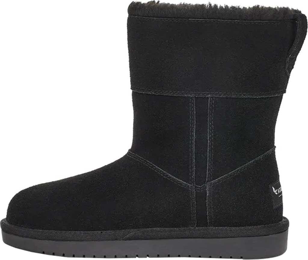 Girls' Koolaburra by UGG Aribel Short Ankle Boot, Black Suede, large, image 3