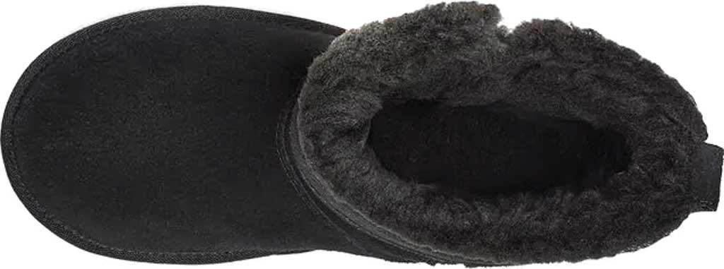 Girls' Koolaburra by UGG Aribel Short Ankle Boot, Black Suede, large, image 5