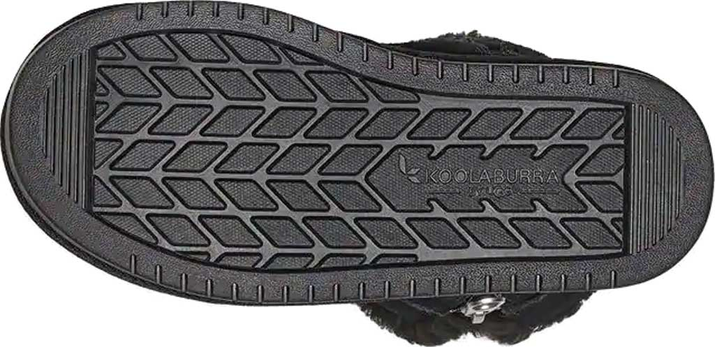 Girls' Koolaburra by UGG Aribel Short Ankle Boot, Black Suede, large, image 6