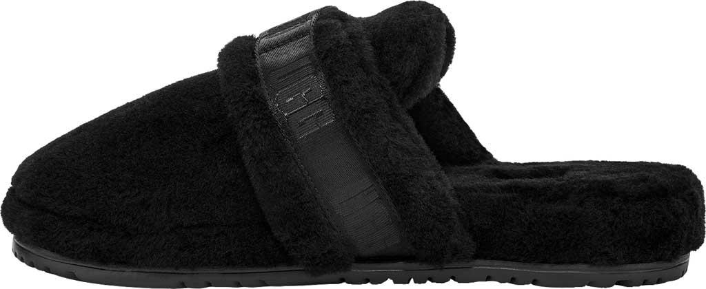 Men's UGG Fluff It Mule Slipper, Black TNL Fluff Wool, large, image 3