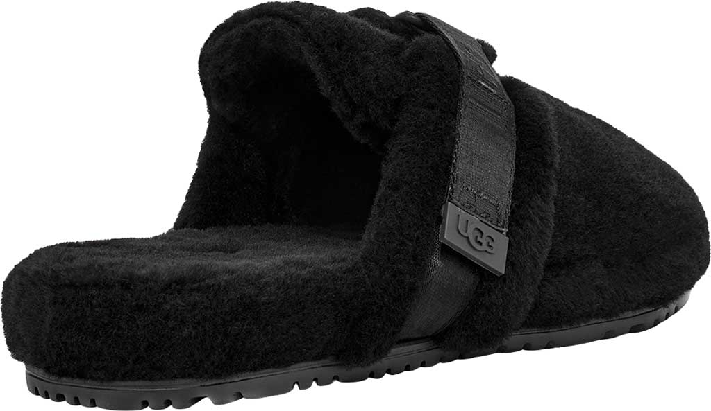 Men's UGG Fluff It Mule Slipper, Black TNL Fluff Wool, large, image 4