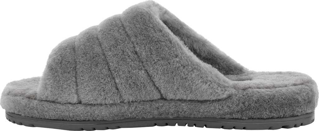 Men's UGG Fluff You Slide Slipper, Metal Fluff Wool, large, image 3