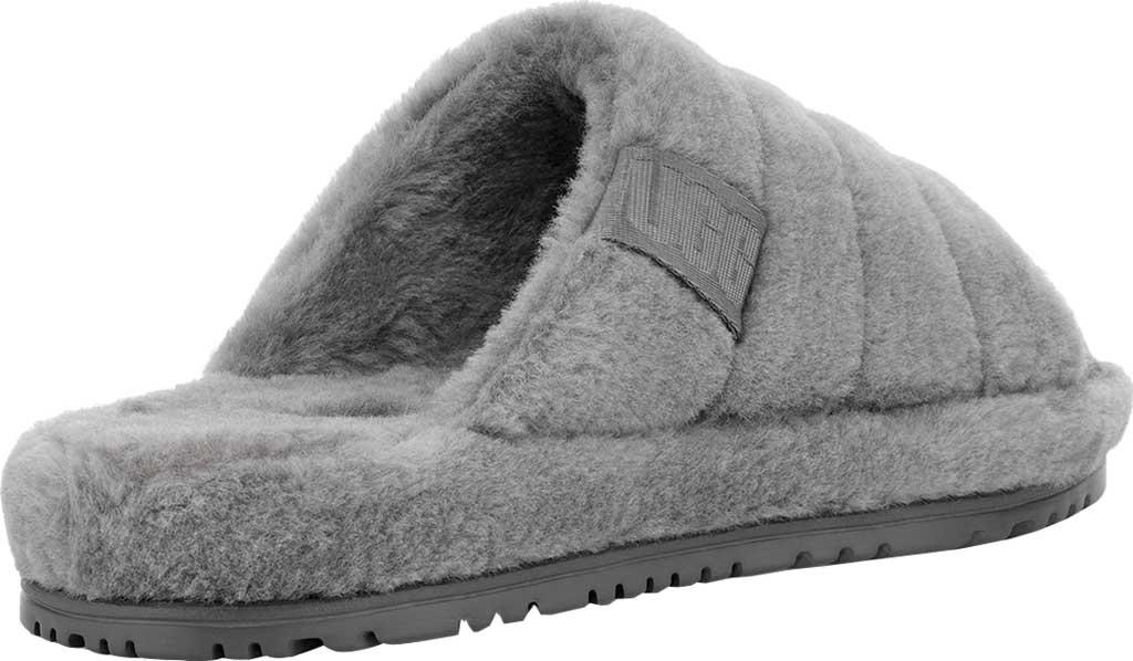 Men's UGG Fluff You Slide Slipper, Metal Fluff Wool, large, image 4