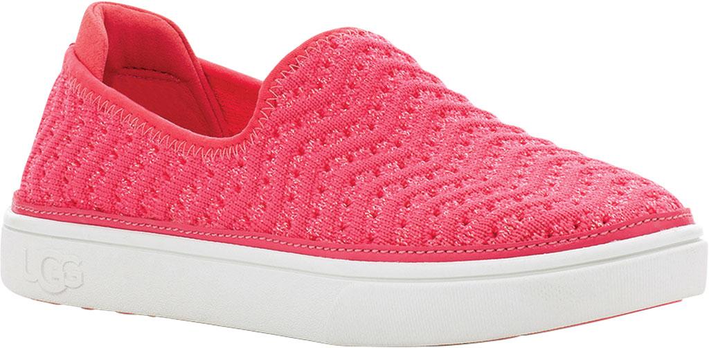 Children's UGG Caplan Slip-On Sneaker - Kids, Strawberry Metallic Knit, large, image 1