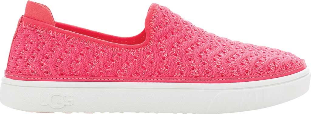 Children's UGG Caplan Slip-On Sneaker - Kids, Strawberry Metallic Knit, large, image 2