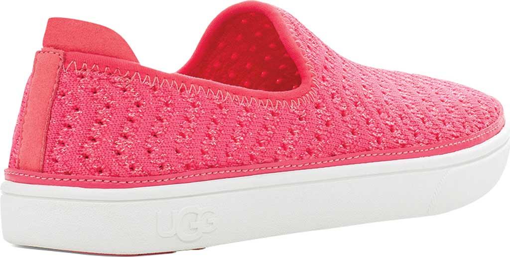 Children's UGG Caplan Slip-On Sneaker - Kids, Strawberry Metallic Knit, large, image 4