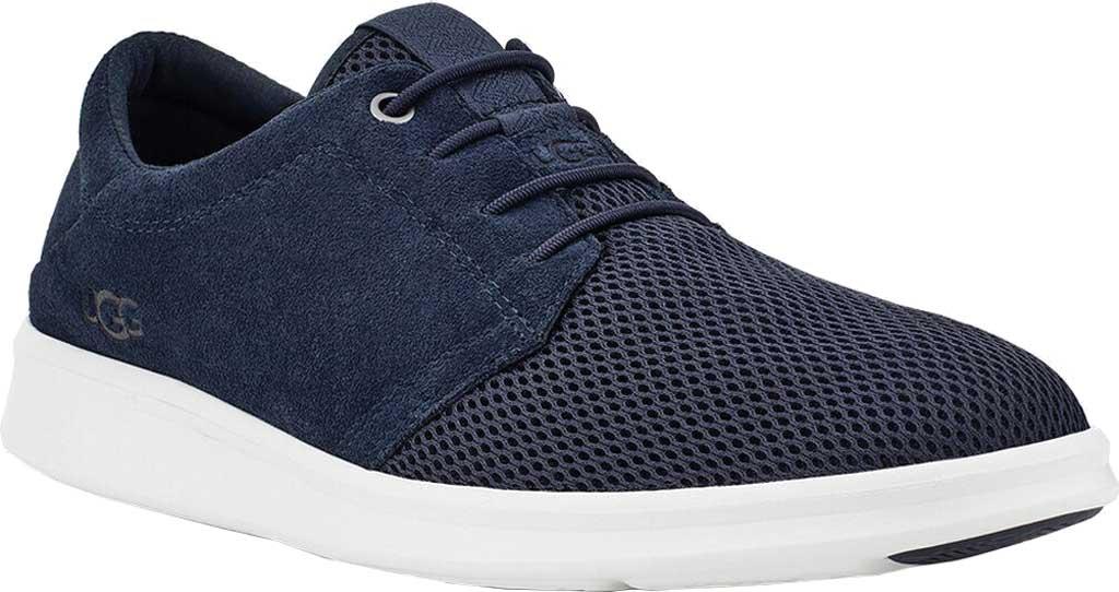 Men's UGG Greyson Sneaker, Dark Sapphire HyperWeave/Nubuck, large, image 1