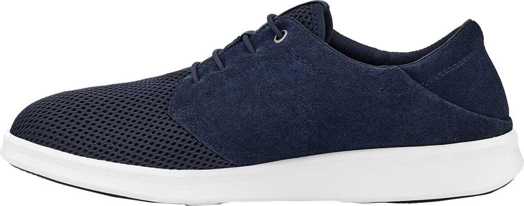 Men's UGG Greyson Sneaker, Dark Sapphire HyperWeave/Nubuck, large, image 3