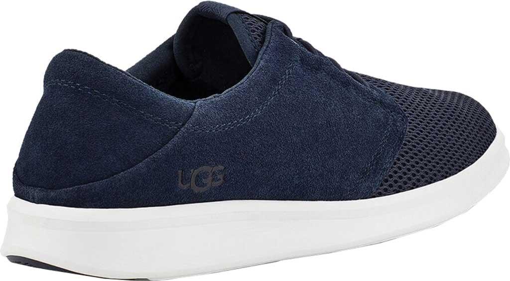 Men's UGG Greyson Sneaker, Dark Sapphire HyperWeave/Nubuck, large, image 4