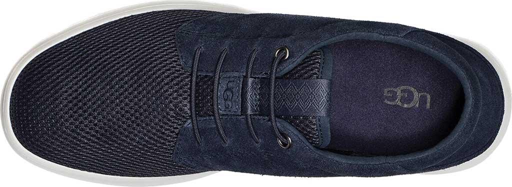 Men's UGG Greyson Sneaker, Dark Sapphire HyperWeave/Nubuck, large, image 5