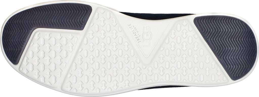 Men's UGG Greyson Sneaker, Dark Sapphire HyperWeave/Nubuck, large, image 6