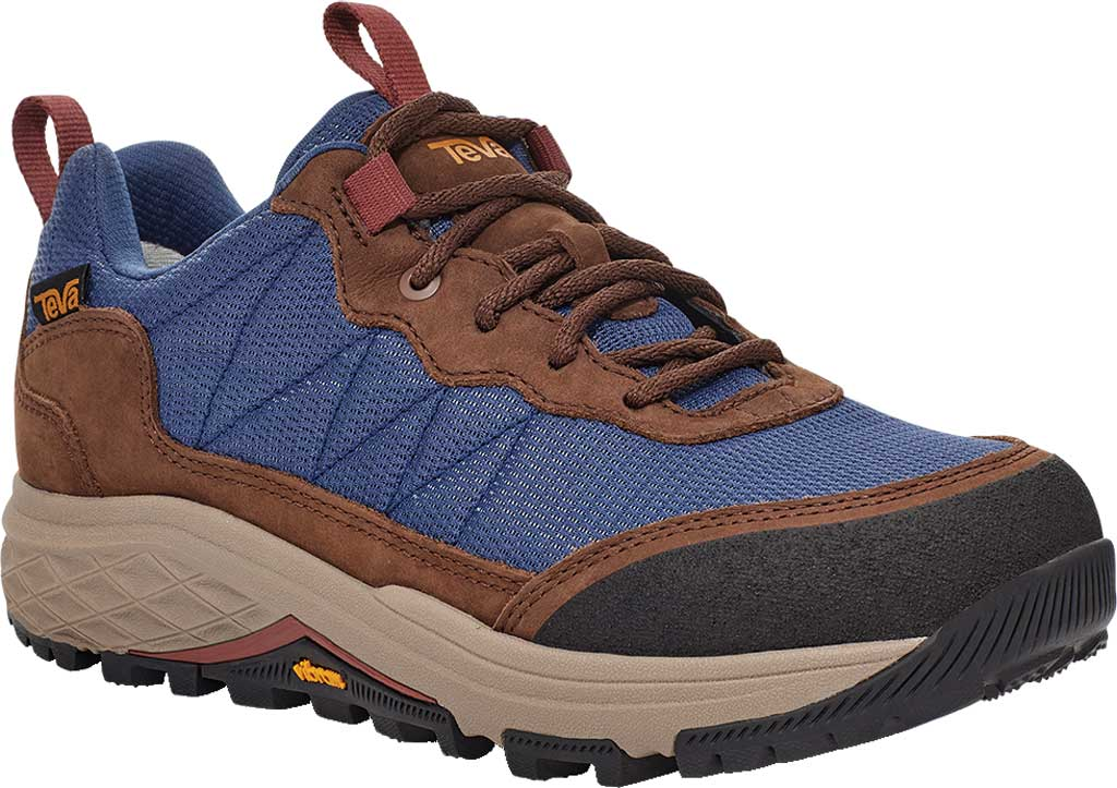 Women's Teva Ridgeview Low RP Waterproof Sneaker, Blue Indigo Leather/Textile, large, image 1