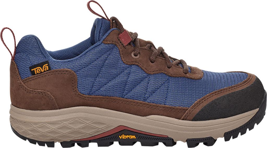 Women's Teva Ridgeview Low RP Waterproof Sneaker, Blue Indigo Leather/Textile, large, image 2