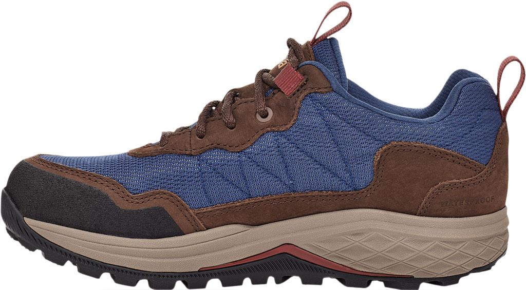 Women's Teva Ridgeview Low RP Waterproof Sneaker, Blue Indigo Leather/Textile, large, image 3