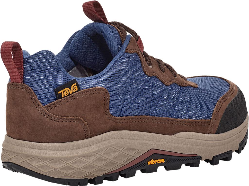 Women's Teva Ridgeview Low RP Waterproof Sneaker, Blue Indigo Leather/Textile, large, image 4