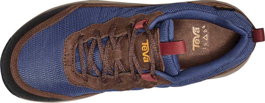 Women's Teva Ridgeview Low RP Waterproof Sneaker, Blue Indigo Leather/Textile, large, image 5