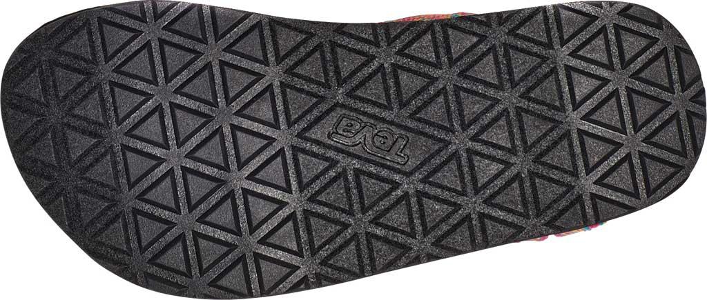 Children's Teva Original Universal Wedge Strappy Sandal, Atlas Raspberry Sorbet Textile, large, image 6