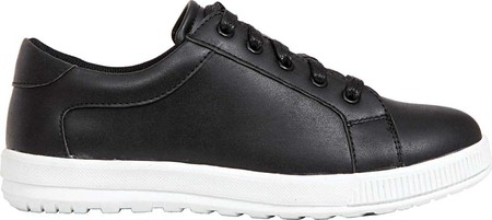 Boys' Deer Stags Kane Sneaker, Black/White Simulated Leather, large, image 2