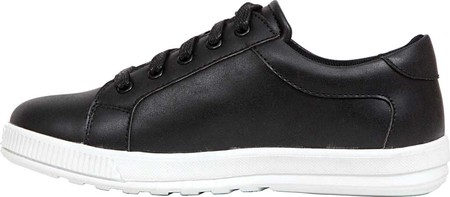 Boys' Deer Stags Kane Sneaker, Black/White Simulated Leather, large, image 3