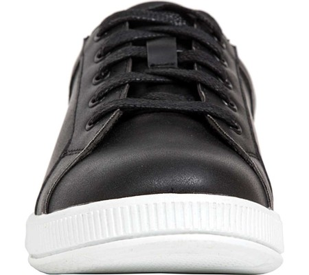 Boys' Deer Stags Kane Sneaker, Black/White Simulated Leather, large, image 4