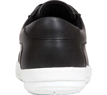 Boys' Deer Stags Kane Sneaker, Black/White Simulated Leather, large, image 5