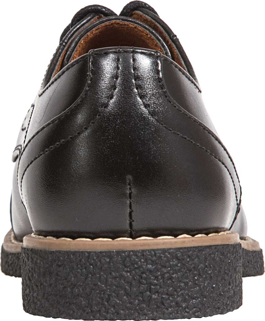 Boys' Deer Stags Zoran Oxford, Black Simulated Leather, large, image 4