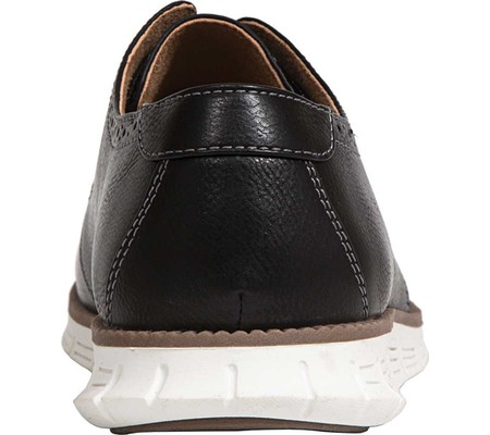 Boys' Deer Stags Aiden Jr Oxford, Black Faux Leather, large, image 4