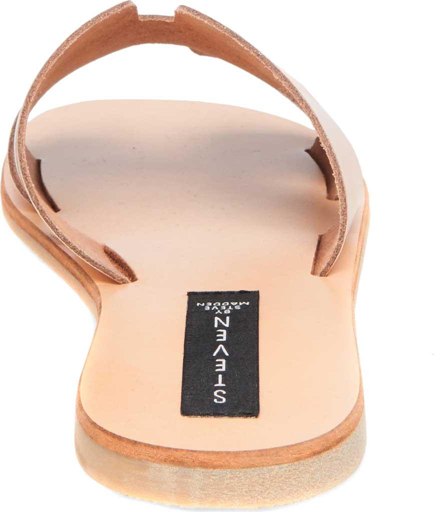 Women's STEVEN by Steve Madden Greece Slide Sandal, Rose Gold Leather, large, image 3