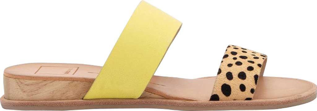 Women's Dolce Vita Payce Slide Sandal, Leopard Multi Calfskin Leather, large, image 2