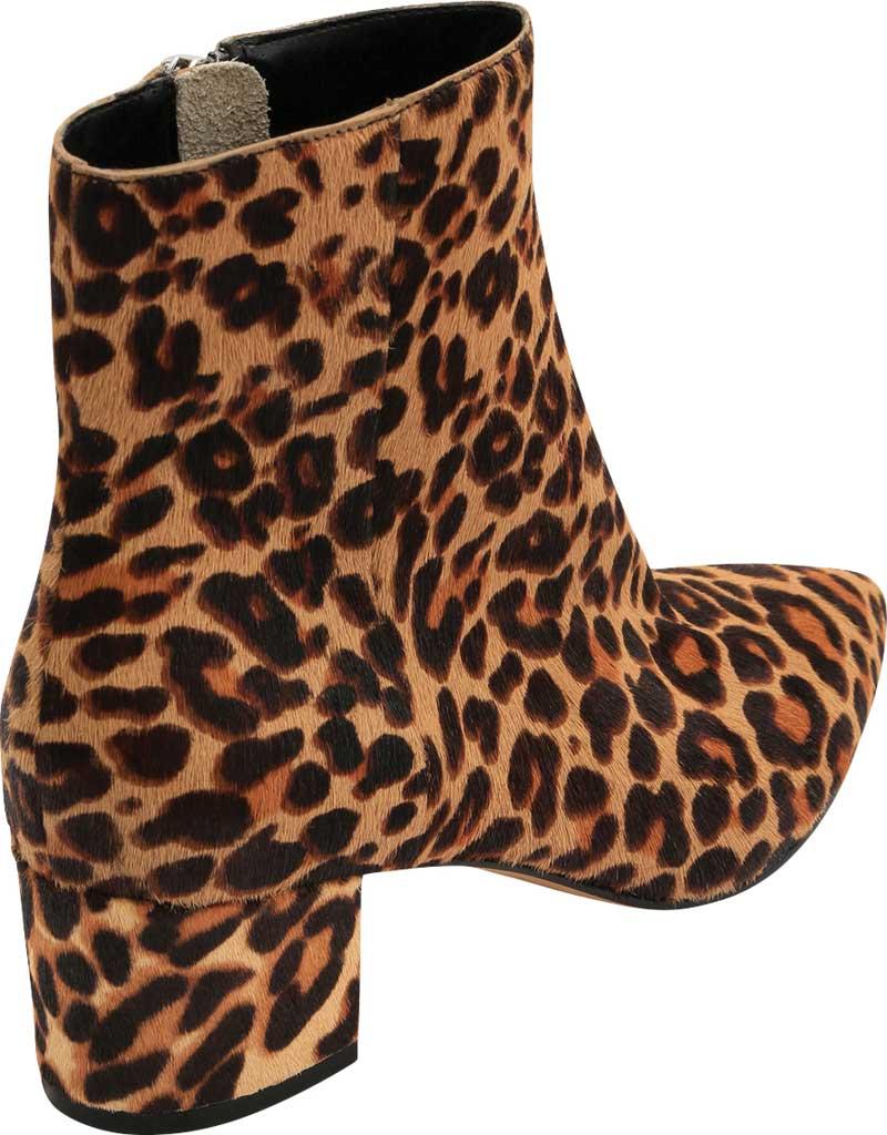 Women's Dolce Vita Bel Ankle Bootie, Dark Leopard Calf Hair, large, image 3