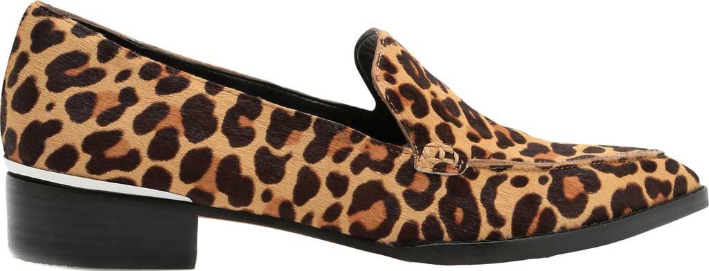Women's Dolce Vita Arlene Loafer, Dark Leopard Calf Hair, large, image 2