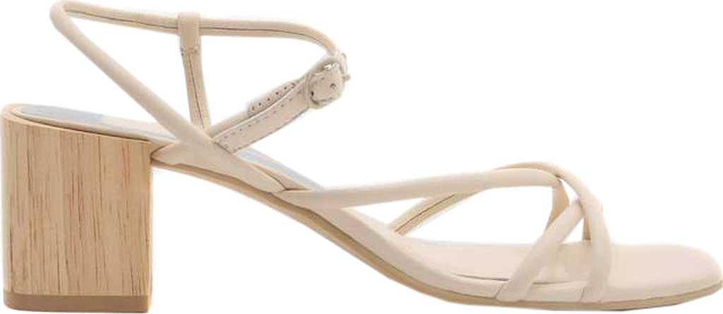 Women's Dolce Vita Zayla Strappy Block Heel Sandal, Ivory Leather, large, image 2