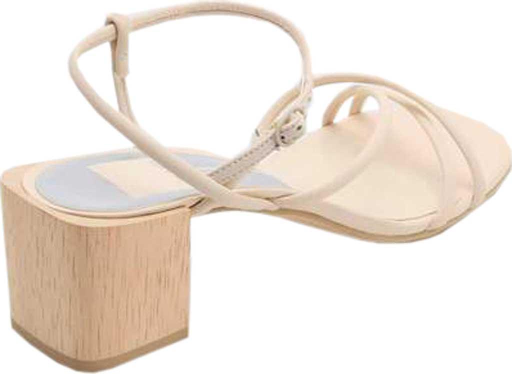 Women's Dolce Vita Zayla Strappy Block Heel Sandal, Ivory Leather, large, image 3