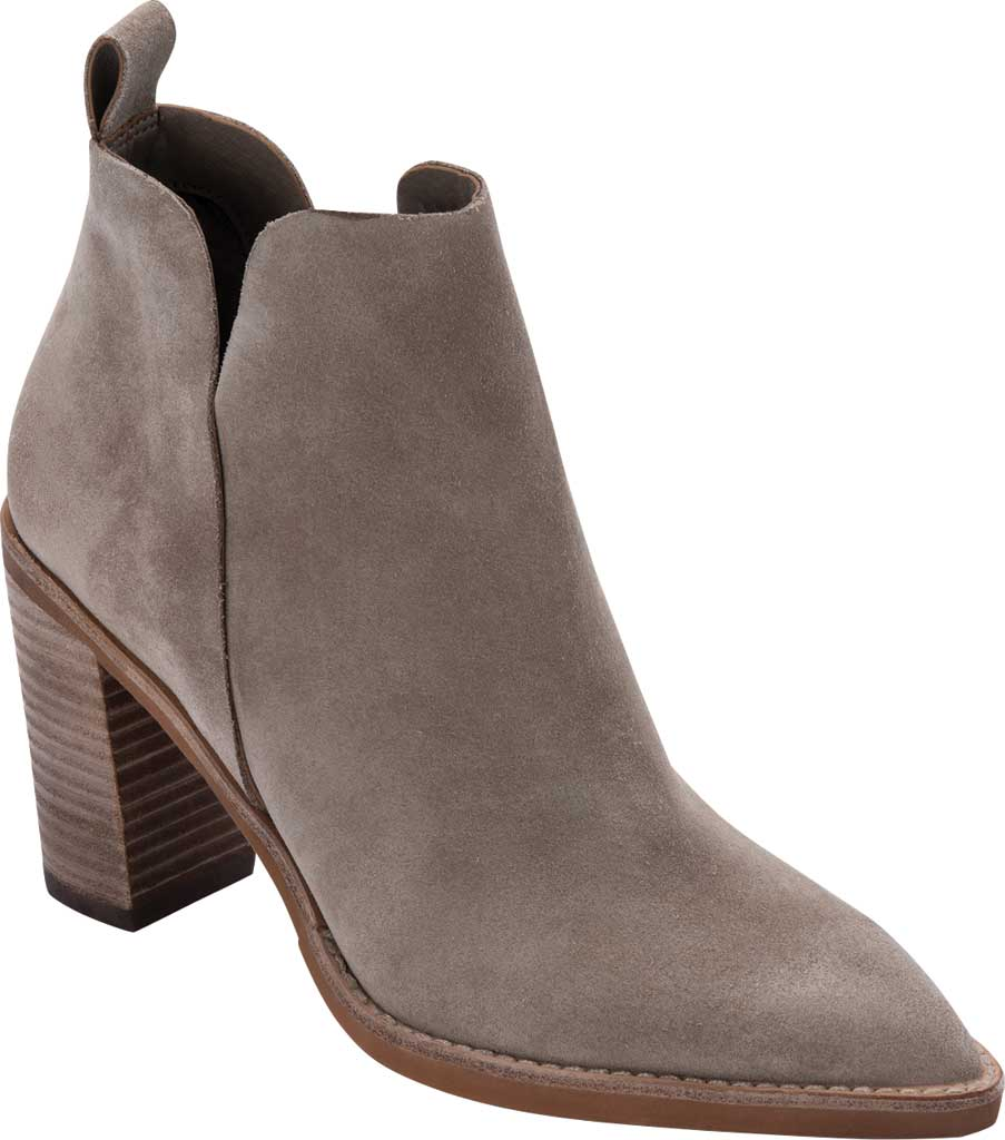 Women's Dolce Vita Shanon Chelsea Boot, Dark Taupe Suede, large, image 1