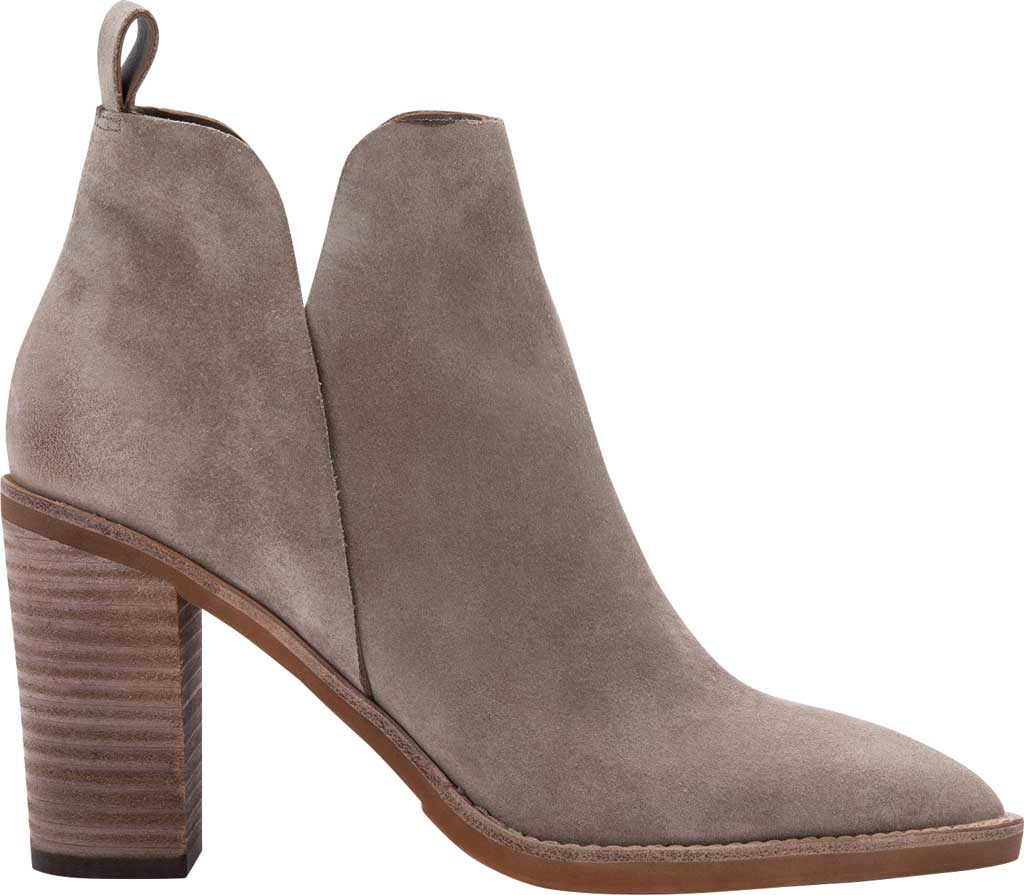 Women's Dolce Vita Shanon Chelsea Boot, Dark Taupe Suede, large, image 2