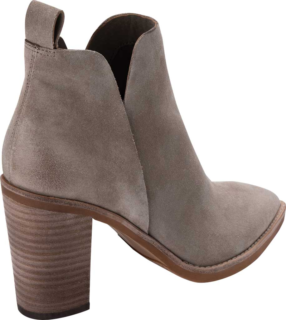 Women's Dolce Vita Shanon Chelsea Boot, Dark Taupe Suede, large, image 3
