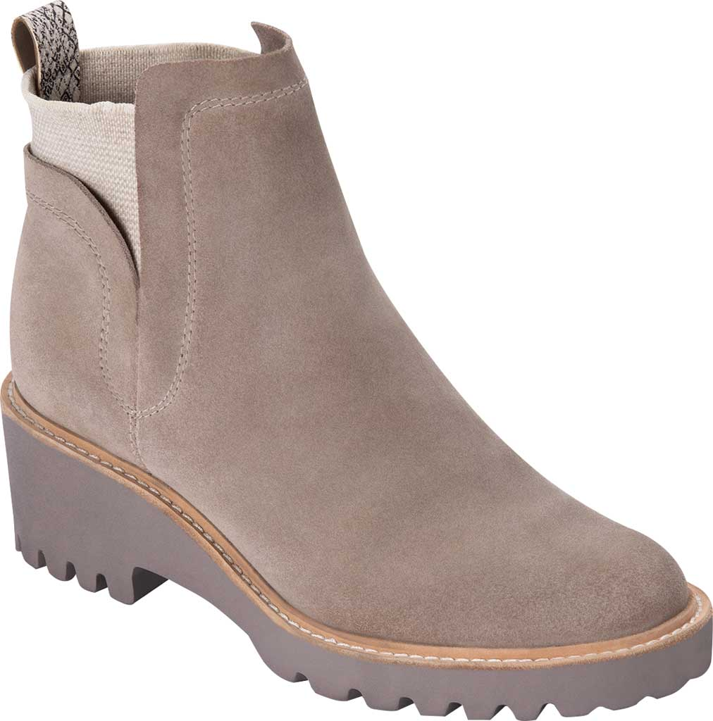 Women's Dolce Vita Huey Ankle Boot, Almond Suede, large, image 1