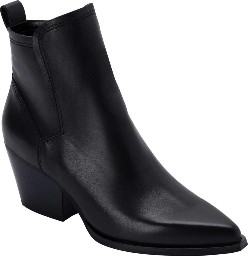 Women's Dolce Vita Sammey Heeled Bootie, Black Leather, large, image 1
