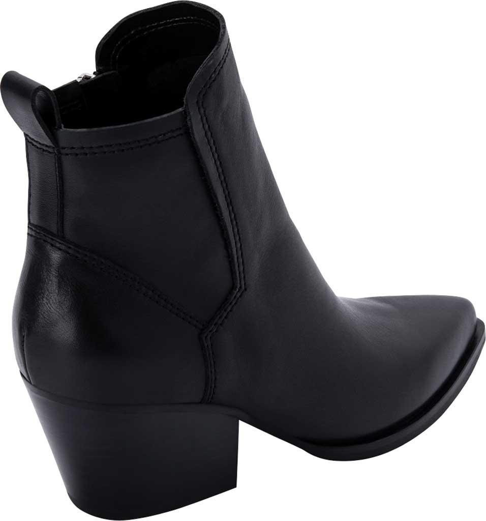 Women's Dolce Vita Sammey Heeled Bootie, Black Leather, large, image 3