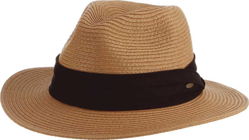 Men's Scala MS321 Braided Safari Hat, Tea, large, image 1