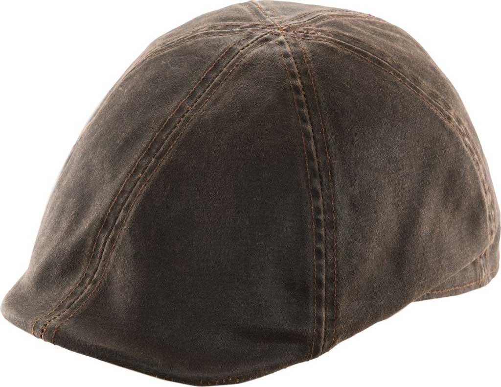 Men's DPC Outdoor Design Grommet Wide Brim Hat, Brown, large, image 1