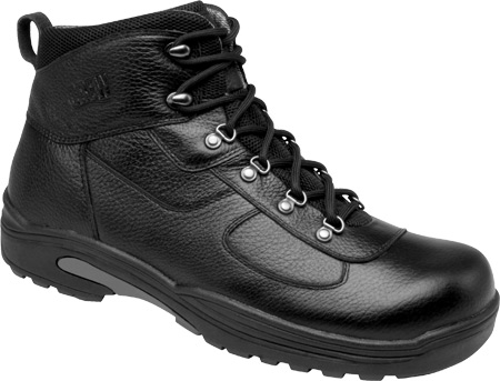 Men's Drew Rockford Waterproof Boot, Black Tumbled Leather, large, image 1