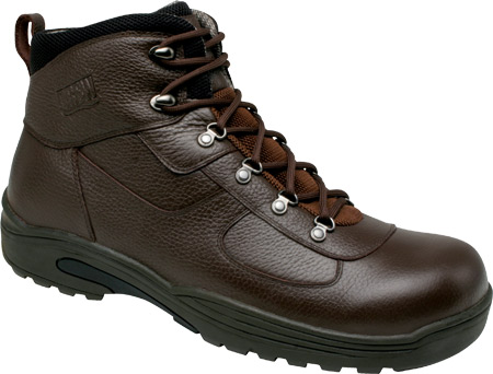Men's Drew Rockford Waterproof Boot, Dark Brown Tumbled Leather, large, image 1