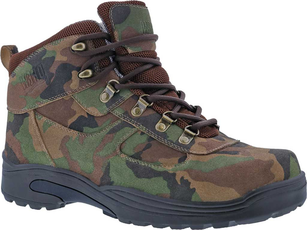 Men's Drew Rockford Waterproof Boot, Camo Suede, large, image 1