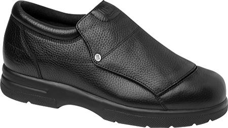 Men's Drew Victor, Black Pebbled Grain Leather, large, image 1