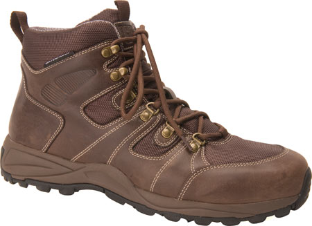 Men's Drew Trek, Dark Brown Leather, large, image 1