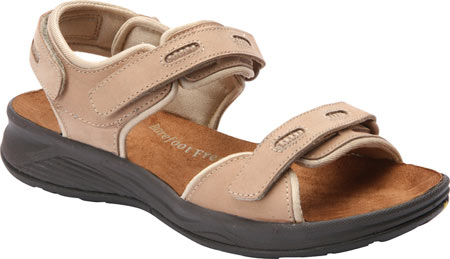 Women's Drew Cascade Sandal, Sand Nubuck, large, image 1