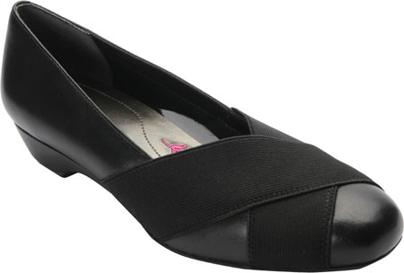 Women's Ros Hommerson Tammy Pump, Black Leather/Gore, large, image 1