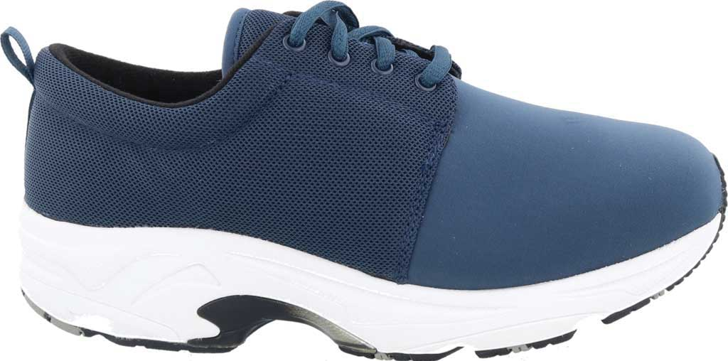 Women's Drew Excel Sneaker, Navy Leather, large, image 2