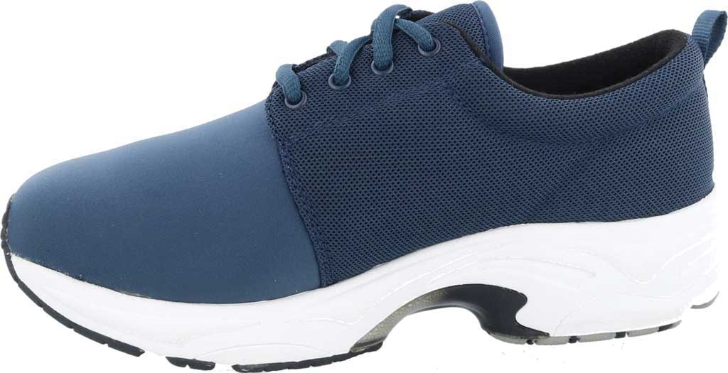 Women's Drew Excel Sneaker, Navy Leather, large, image 3